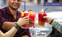 Jumbo-Cocktail oder Longdrink nach Wahl inkl. Nachos & Dip für 2 oder 4 Personen im ROCK PIT (bis zu 42% sparen*)