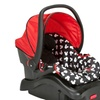 Light 'N Comfy Luxe Infant Car Seat Mickey Silhouette