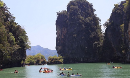 Thailand, Phuket: Full-Day Boat Tour of James Bond Island and Phang Nga Bay + Canoeing with Phuket Free Day Tours