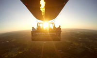 Sunrise Hot Air Balloon Experience for a Child ($149) or Two Adults ($598) at Byron Bay Ballooning (Up to $700 Value)