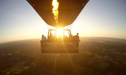 Sunrise Hot Air Balloon Experience for a Child $149 or Two Adults $598 at Byron Bay Ballooning Up to $700 Value
