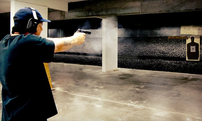 Beavercreek Armory Range - Hillsboro: Shooting-Range Package for One, Two, or Four with Class and Ammo at Beavercreek Armory Range in Hillsboro (54% Off)
