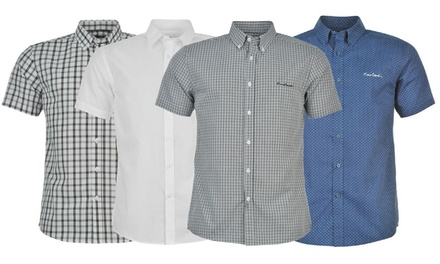 Chemises à manches courtes de la marque Pierre Cardin pour homme