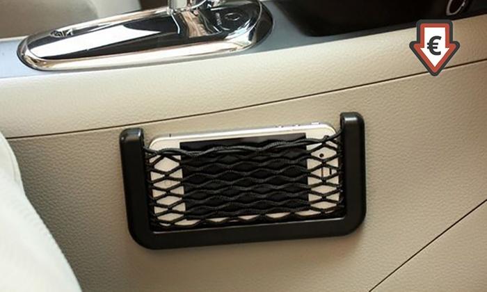 Tasca porta cellulare da auto groupon goods - Porta cd auto simpatici ...