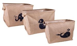 Multi-Use Collapsible Eco Storage Bin Basket