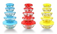 Glass Nesting Bowls with...