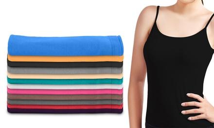 12 Women's Camisole Tank Tops