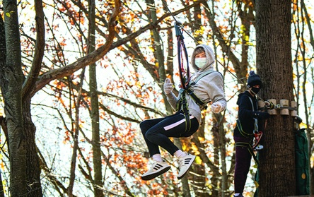 Book Now: $48.56 for Ziplining at FLG X Adventure Course ($54.52 Value)