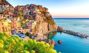 Cinque Terre : 1 à 3 nuits avec petit-déjeuner et bouteille de vin La Spezia