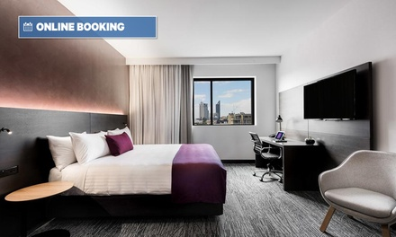 Perth: Up to 3-Night City Break for Two with Buffet Brekky, Wine and Late Check-Out at Sage Hotel West Perth