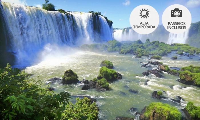 Hotel Baviera Iguassu - Foz do Iguaçu: Foz do Iguaçu: até 5 noites para 2, café da manhã e transfer (opção com passeios e Réveillon) no Hotel Baviera Iguassu