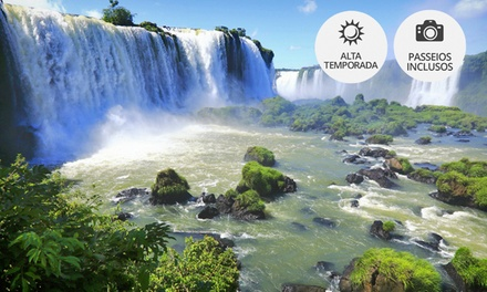 Foz do Iguaçu: até 5 noites para 2, café da manhã e transfer (opção com passeios e Réveillon) no Hotel Baviera Iguassu