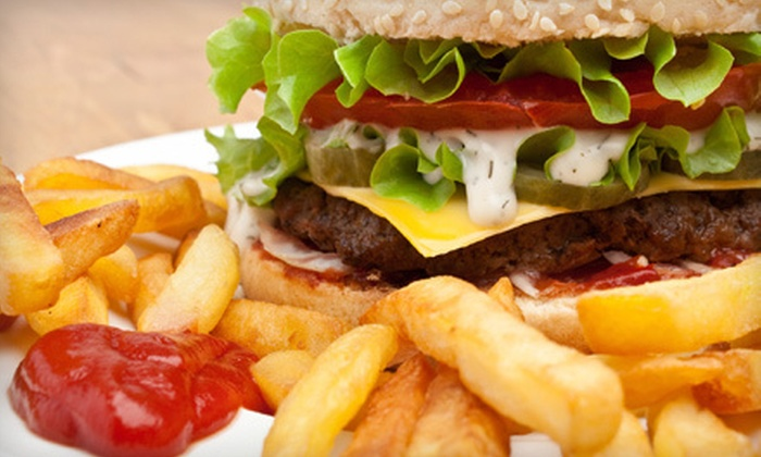 All Stars Sports Bar and Grill - Pompano Beach: Burgers and Grill Fare at All Stars Sports Bar and Grill in Pompano Beach (Up to 58% Off). Two Options Available.