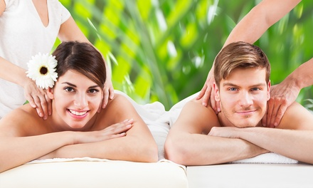 60-Minute Couples Swedish or Deep Tissue Massage with Aromatherapy at The Mark Spa (Up to 51% Off)