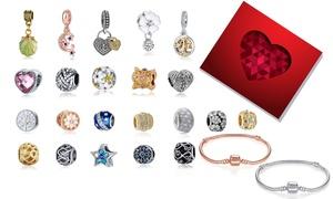 (Exclusive)  Bracelets charms cristaux Swarovski®