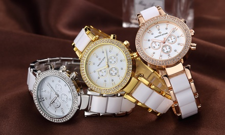 One or Two Timothy Stone Desire Women's Watches with Crystals from Swarovski® With Free Delivery