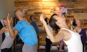 Caffe Yoga: 5 or 10 Yoga Classes, or a Month of Unlimited Yoga Classes at Caffe Yoga (Up to 70% Off)