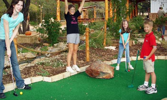 Magic Greens - Dripping Springs-Wimberley: Mini-Golf Outing for Two or Four or a Birthday Party for Up to 10 at Magic Greens in Dripping Springs (Up to 57% Off)