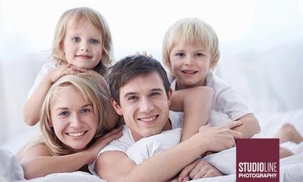 90 Min. Family-/Kids-Fotoshooting mit Make-up und Bildern als Datei und Ausdruck bundesweit bei STUDIOLINE PHOTOGRAPHY