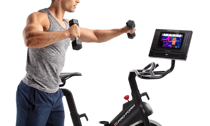 Up To 9% Off on ProForm Smart Power Spin Bike | Groupon Goods
