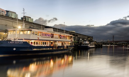 $31.50 for Retro DressUp Boat Party Ticket, 7 October 201714 April 2018, The Lady Cutler, Docklands Up to $45 Value