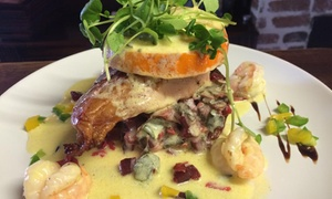 53 Avenue: Two-Course Lunch with a Glass of Wine for Two at 53 Avenue (Up to 42% Off)