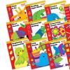 Learning Line Language or Math Children's Workbook Set (12-Pack)