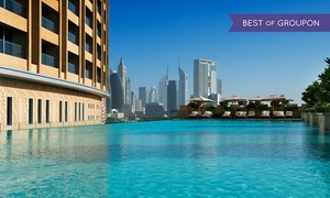 Cabana - The Address Dubai Mall: Private Cabana and Pool Access with Refreshments for up to Four at Cabana at The Address, Dubai Mall (Up to 58% Off)