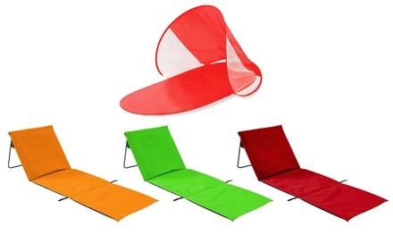 Stuoia prendisole o da spiaggia disponibili in 4 colori