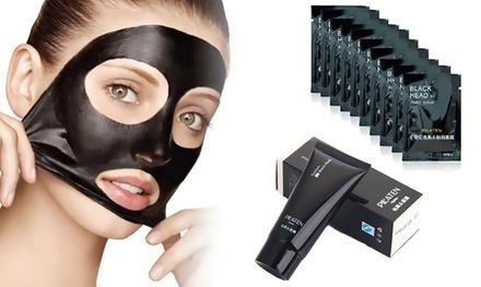 Fino a 60 maschere o 4 tubetti per punti neri da 60 ml