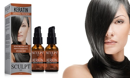 Sculpt Keratin Treatment Hair Serum 60ml: Two $34 or Four $54 Don't Pay up to $128