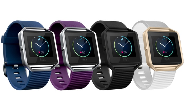 Silicone Band with Frame for Fitbit Blaze
