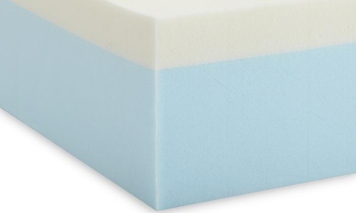 74 Off On Purasleep Memory Foam Mattress Livingsocial Shop