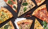 Choice of Pizzas at Apache Pizza