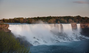 Renovated Niagara Falls Hotel with Wine & Dine Package at Days Inn - Fallsview, plus 6.0% Cash Back from Ebates.