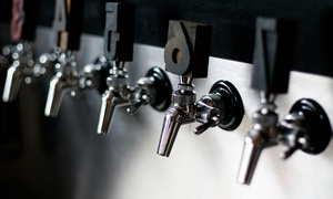 Hop Hideout: Craft Beer Tasting with Five Beers for Two and Snacks to Share at Hop Hideout