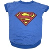 DC Comics for Dogs Superman Logo Tee