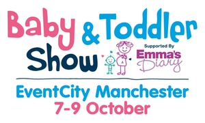 Baby and Toddler Show Manchester: Baby and Toddler Show: Day Ticket for One, 7–9 October at EventCity (Up to 38% Off)