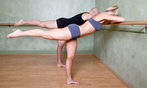 Dimensions: 10 or 20 Booty Barre Classes at Dimensions (Up to 85% Off)