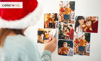 Six Personalised Photo Magnets
