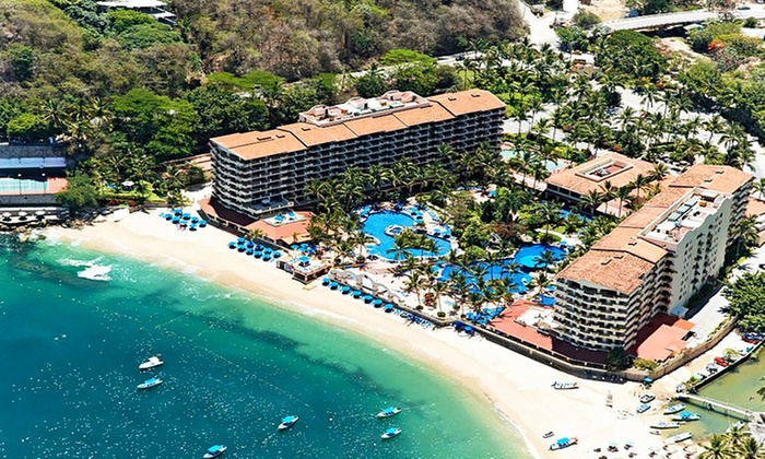 Barcelo puerto vallarta stay with airfare from travel by for Round the world trips all inclusive
