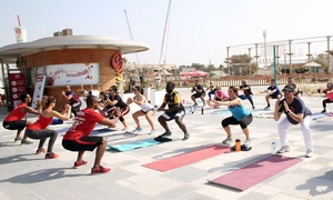 Fitness Boot Camp DXB: Three or Five Outdoor Boot Camp Sessions at Fitness Boot Camp DXB, Multiple Locations (Up to 59% Off)