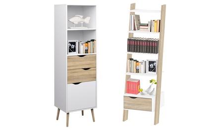 Librerie Evergreen House disponibili in 2 modelli