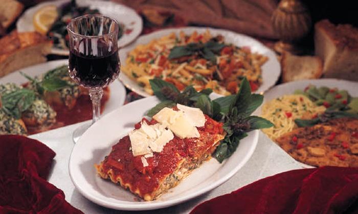 Alfonso's Restaurante - Cleveland: Italian Cuisine at Alfonso's Restaurante (Up to 51% Off). Two Options Available.