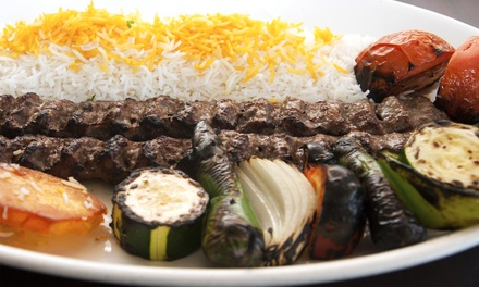 Two-Course Persian Meal for Two or Four at Rose Restaurant (Up to 76% Off)