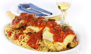 Eatalia Family Style: Italian Food and Drinks for Two or Four at Eatalia Family Style (50% Off)