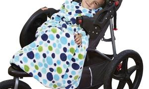 The Slanket Kids Stroller Blanket