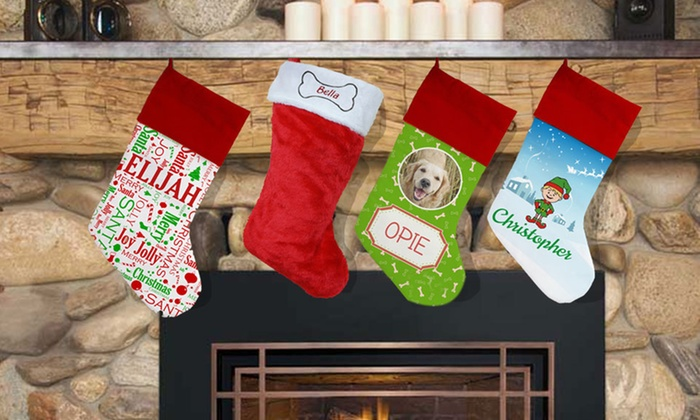 Personalized Christmas Stockings (Up to 55% Off)