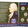Thomas Jefferson Coins and Stamp (9-Piece Set)