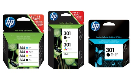 Hewlett Packard Black, Colour or Combo Ink Cartridge With Free Delivery